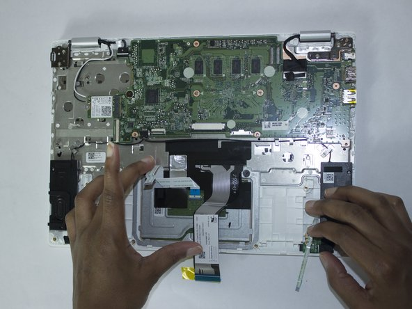 Connected on lower left-hand side of motherboard
