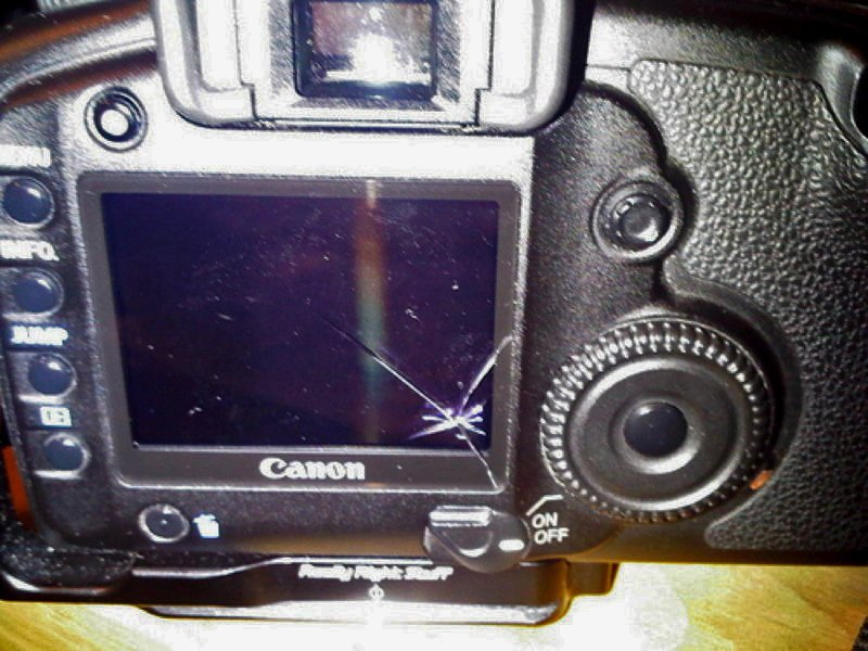 CANON EOS 5D Mark II  TOP COVER LCD WINDOW REPLACEMENT PART NEW