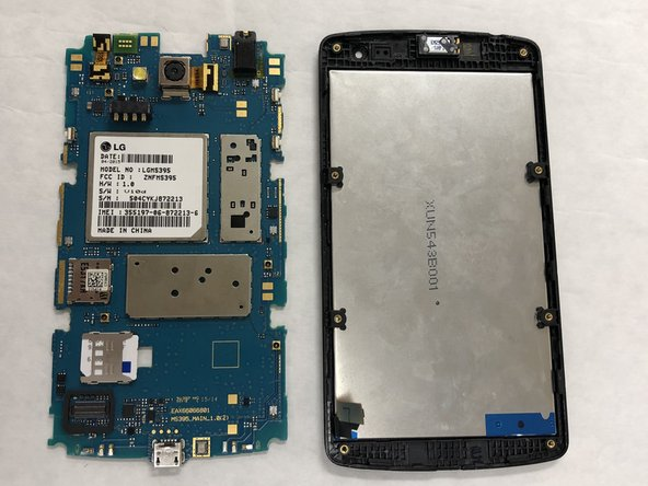 LG Optimus F60 Motherboard Replacement