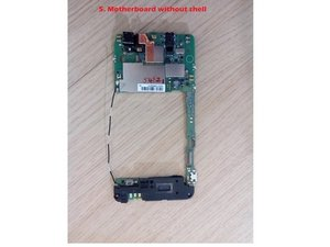 Disassembling ZTE GRAND S FLEX : Unibody, Battery, Motherboard