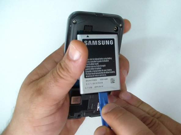 Remove the battery and any installed SIM and memory card.