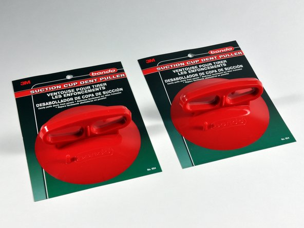 Image 1/1: We use only the best parts around here. Our suction cups come straight from Maranello, Italy (in Ferrari red, of course).