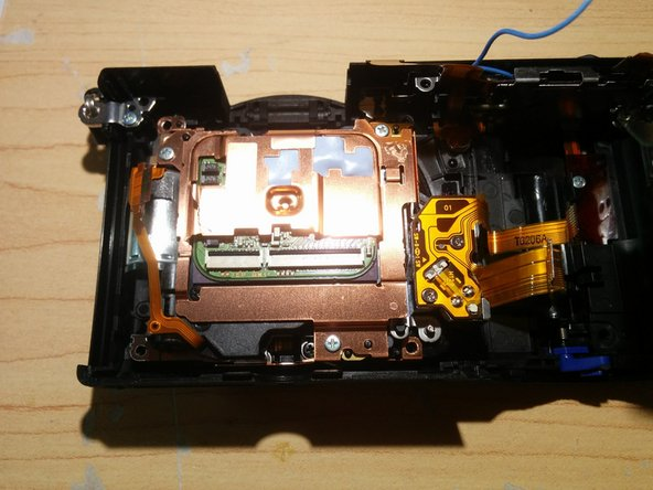 Image 2/3: Remove Image Sensor Assembly