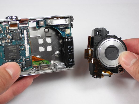 Sony Cyber-shot DSC-W55 Lens Replacement