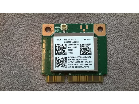 As stated before, you can swap this card out with a half-width PCIe SSD found on Amazon or other electronics retailers.