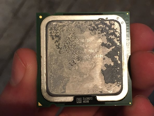 Remember to put new thermal paste on the CPU.