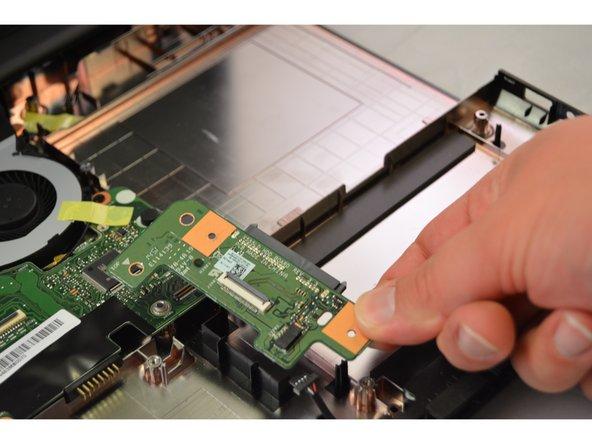 Remove hard drive controller.