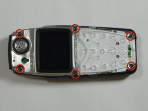 Disassembling Nokia 3560 LCD Display