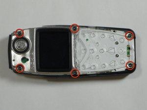 Démontage de l'écran LCD du Nokia 3560