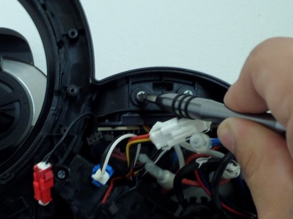 Recommend using Extender 4 with Phillips #2 screwdriver to help unscrew the screws  within the deep holes of the machine.