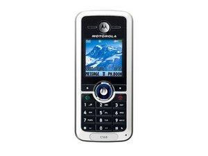 Motorola C168 Repair