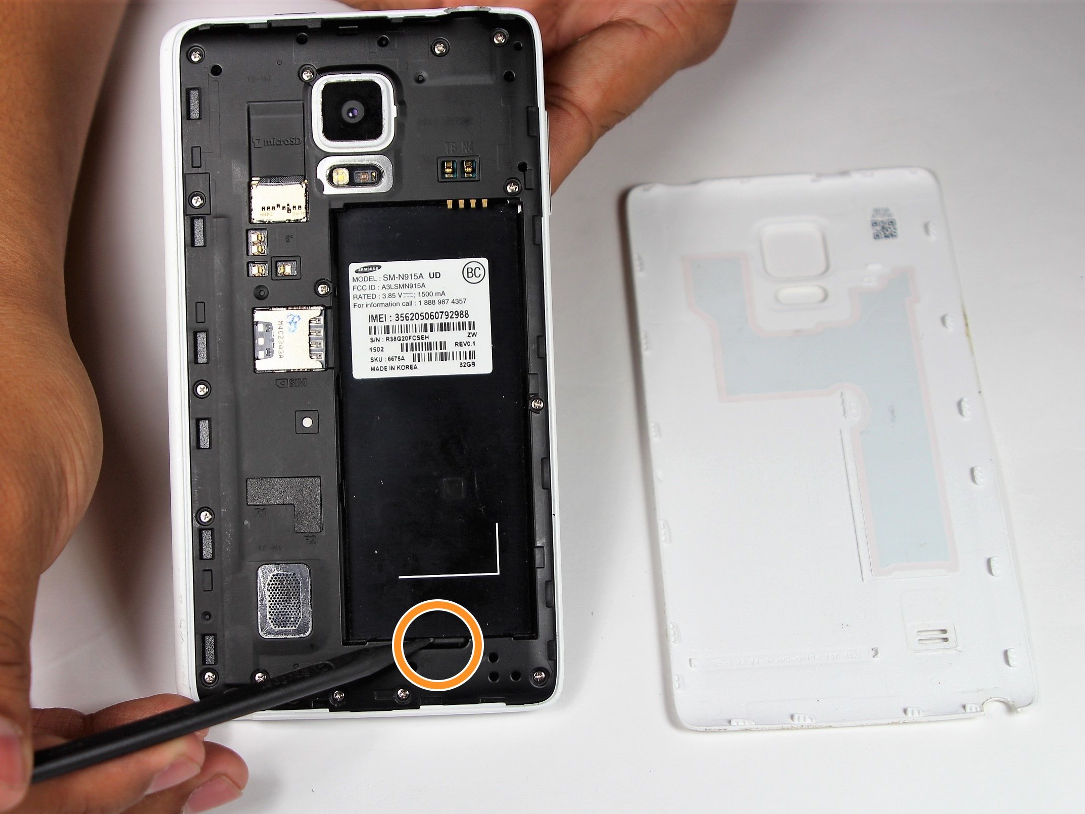 Samsung Galaxy Note Edge Battery Replacement - iFixit Repair Guide