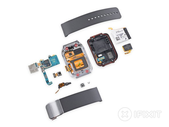 Samsung Gear 2 Repairability Score: 8 out of 10 (10 is easiest to repair)