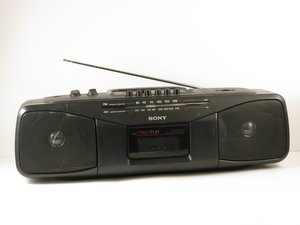 Sony CFS-204 Radio Cassette-Corder Troubleshooting