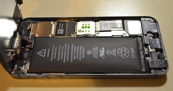 Swollen iPhone battery