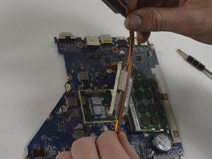 CPU heatsink/thermal paste