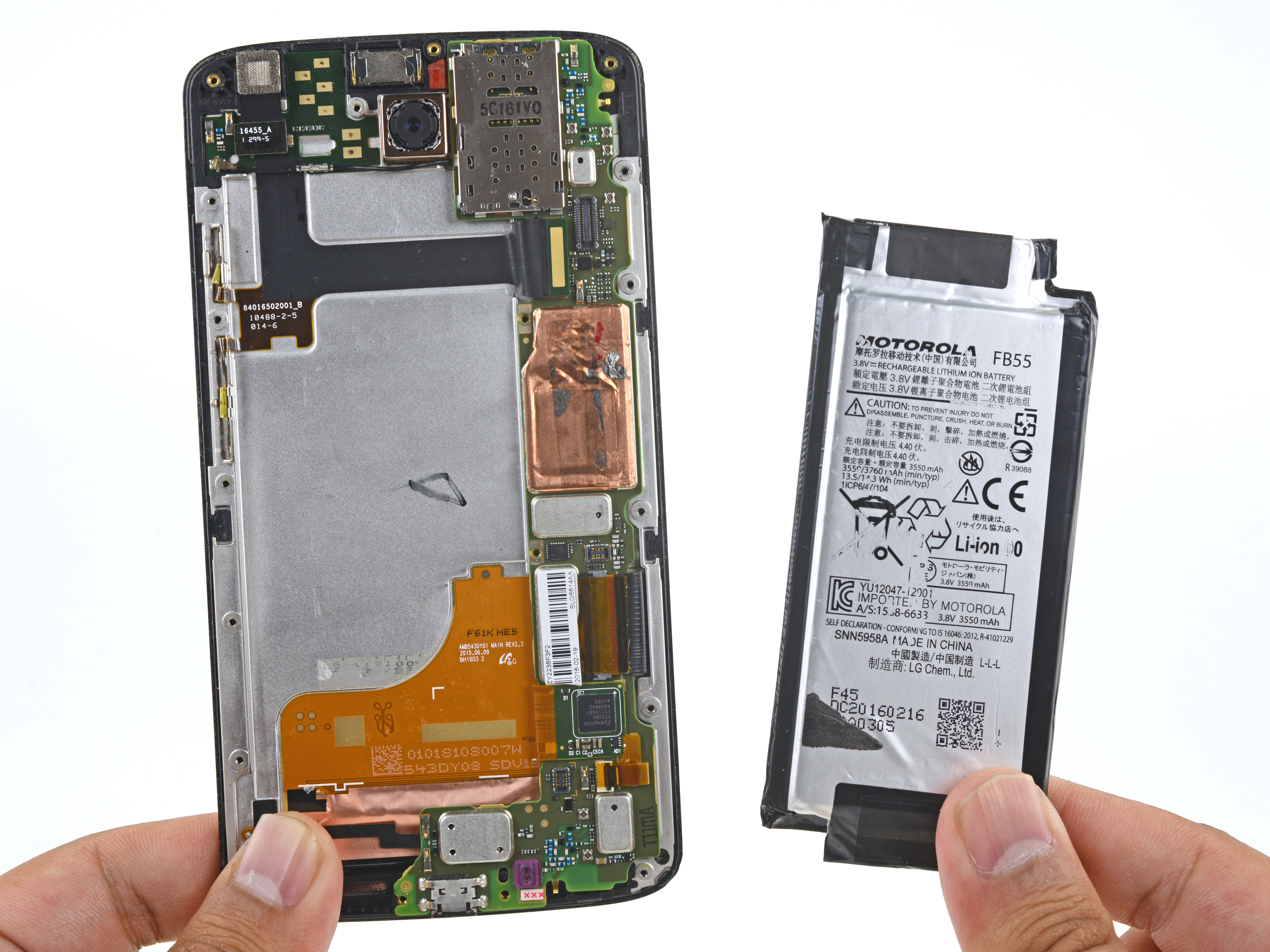 Motorola Droid Turbo 2 Battery Replacement Ifixit Repair Guide Half Hot Outlets Sources 1 Switch Electrical Diy Chatroom