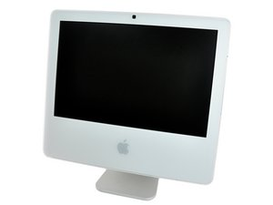 """iMac G5 17"""" Model A1144 수리"""
