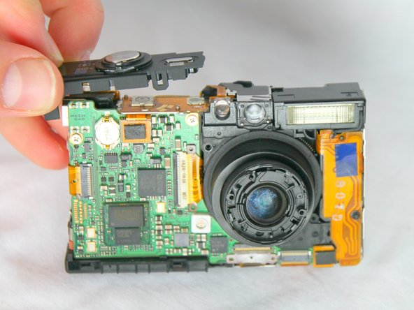 Canon PowerShot SD1000 Shutter Button Replacement