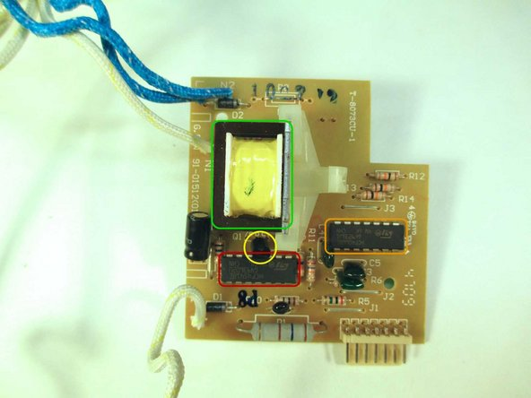 This is the Circuit Board used for controlling each subsystem of the toaster.