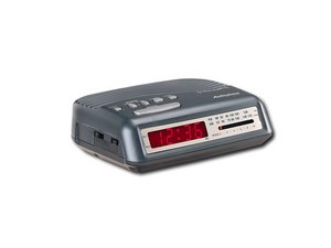 Audiophase Dual-Alarm Clock Radio