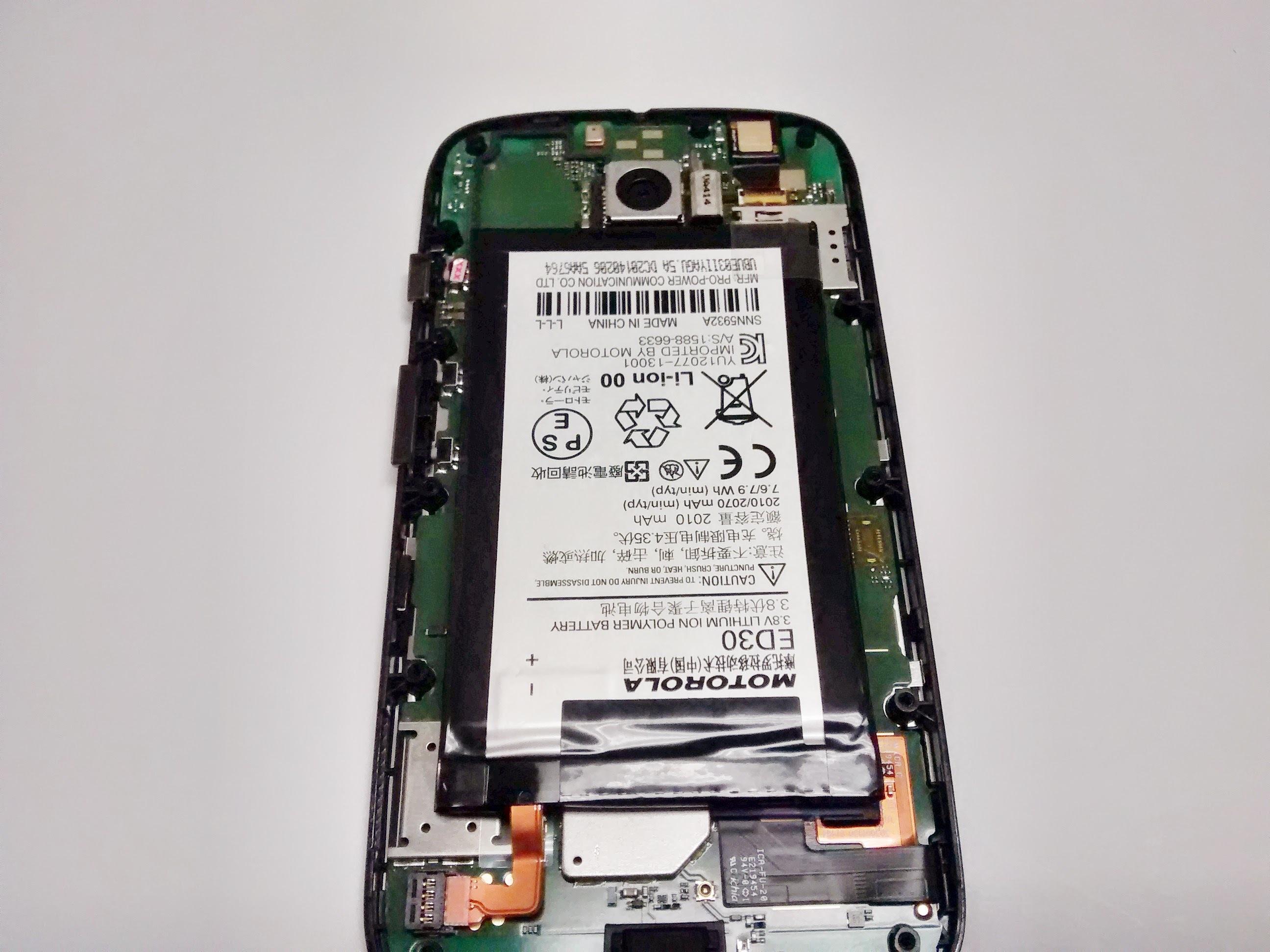 Motorola Moto G 1st Generation Battery Replacement - iFixit Repair on