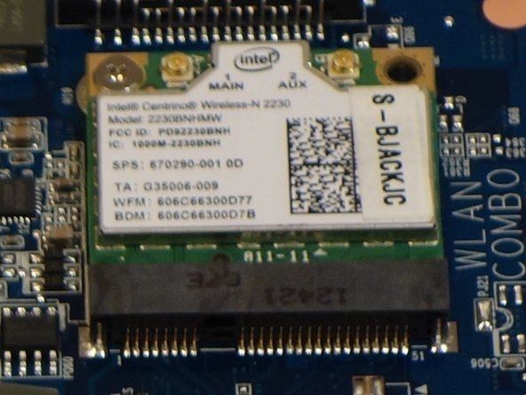 Remplacement Chipset wi-fi why! W253EU