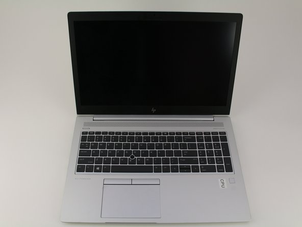 HP EliteBook 840 G5 Trackpad Assembly Replacement