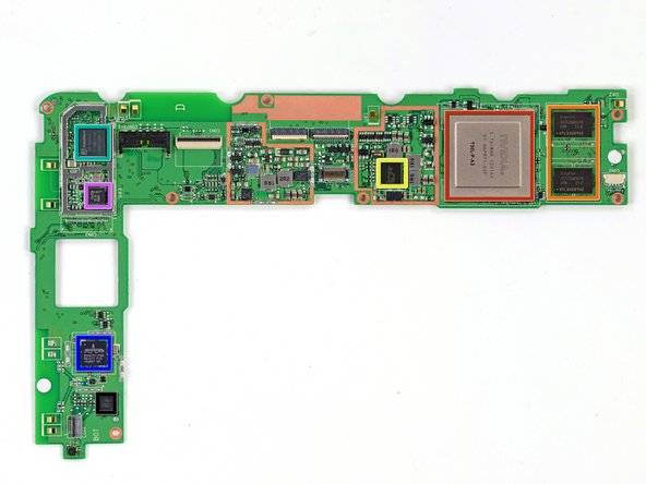 Image 1/1: Here she is, the motherboard: