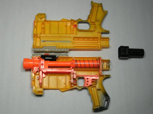 Disassembling Nerf Recon CS-6 Shell