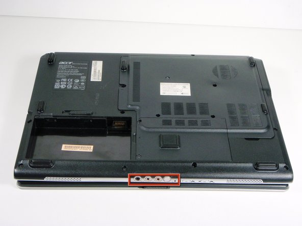 Acer Aspire 5100 Battery Removal