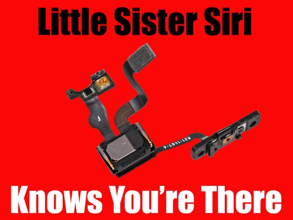 Little Sister Siri meme with infrared LED sensor