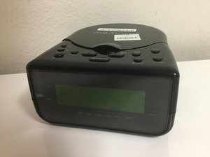 Memorex CD Alarm Clock Radio