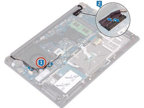 Dell Inspiron 14 7460 Display Assembly Replacement