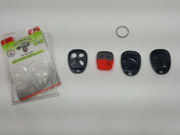 After Opening the new Key Fob package, select the correct housing  as more than one model is included.