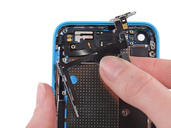 iPhone 5c Audio Control and Power Button Cable Replacement