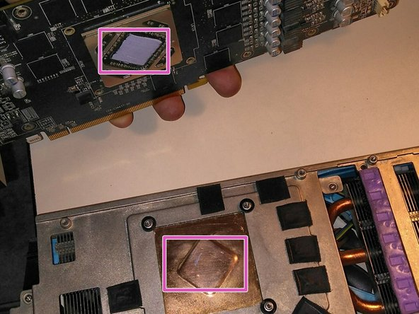 Note this is the clean, thermal paste ready photo