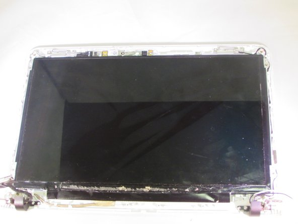 Gently lift the screen assembly up and out.