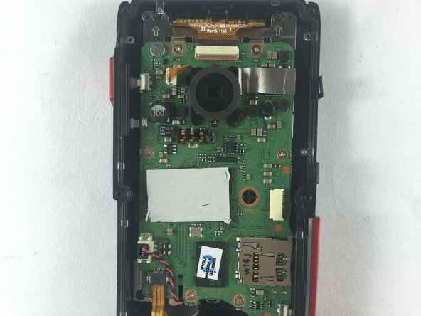 Samsung HMX-W200 Motherboard Replacement