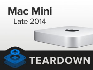 Mac Mini Late 2014 Teardown