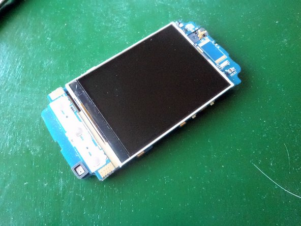There you have it. Amazingly simple to take apart this phone.