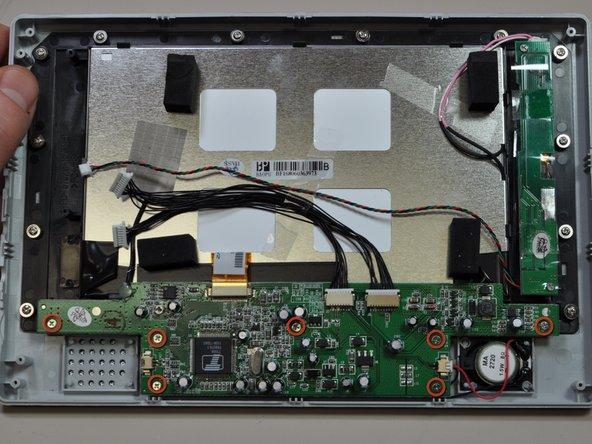 Polaroid LCD-0700P Logic Board Replacement