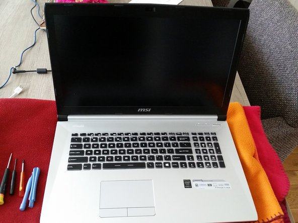 De MSI Prestige pe70/60 laptop.