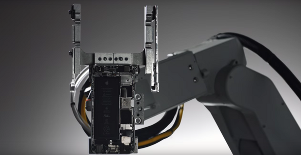 Liam, Apple's iPhone disassembly robot