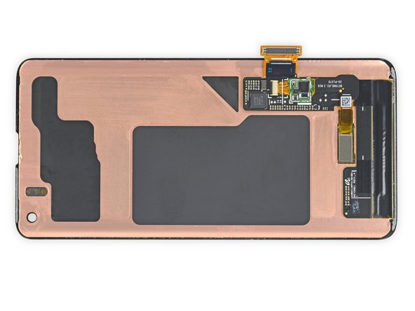 These super-thin, Samsung-made displays act as yet another thermal management tool—backed by layers of copper and graphite to dissipate the heat generated by other components inside the phone.