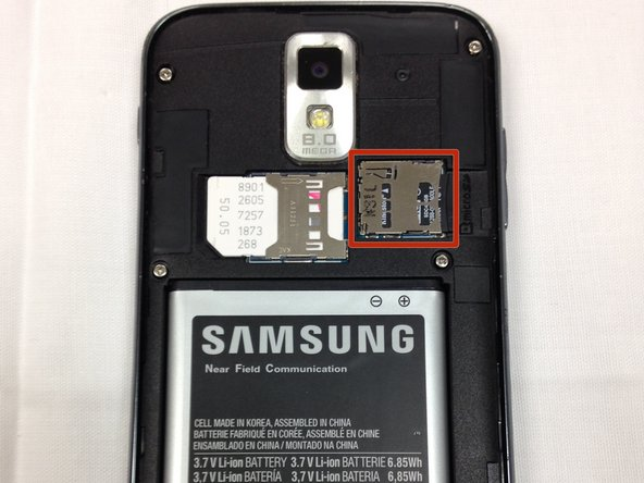 Samsung Galaxy S II T989 Media Card Replacement