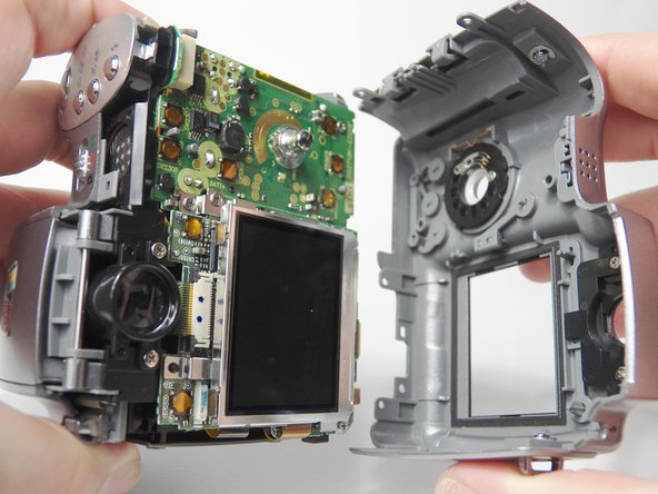 Kodak EasyShare Z740 Back Cover Replacement