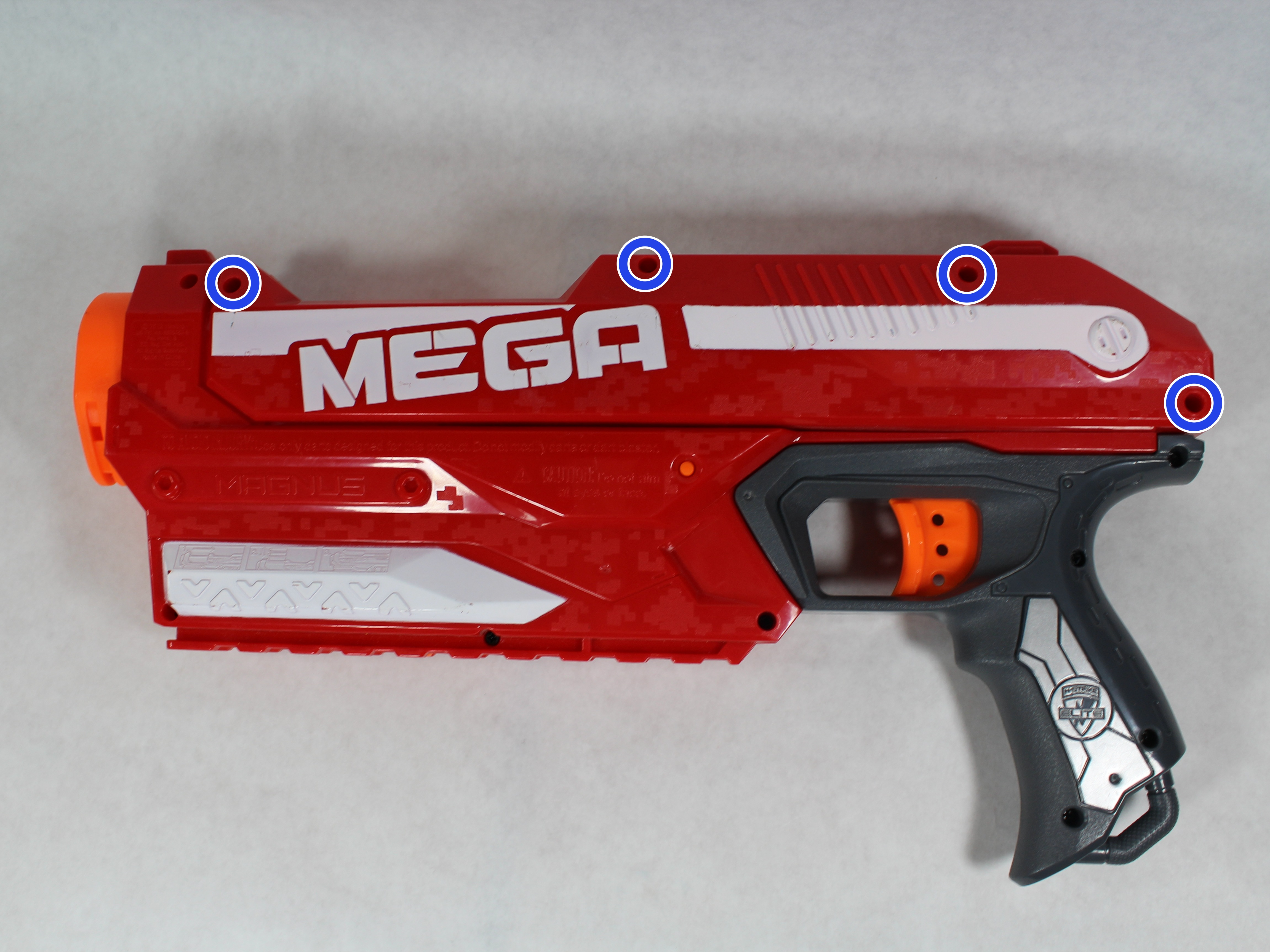 03ed20181e8 Nerf N-Strike Elite Mega Magnus Repair - iFixit