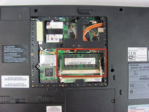 Toshiba Satellite L45-S7423 RAM Replacement