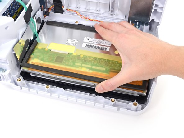 Remove the LCD from the front housing.